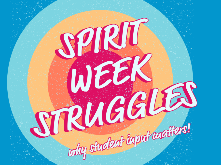 The spirit week schedule caused a lot of confusion for students and staff. Graphic by D. Khan.