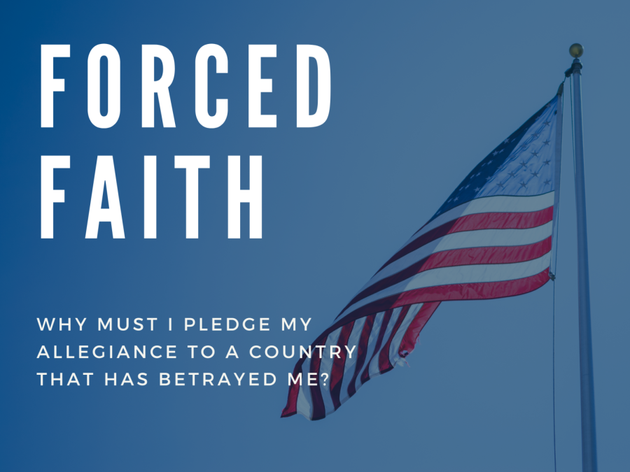 Though students say the pledge everyday, they never learn about its meaning, origins, and the irony of it all.