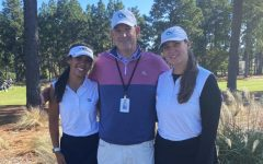 Maddie Linares and Ava Heaton competed in the Regionals Womens Golf Tournament.
