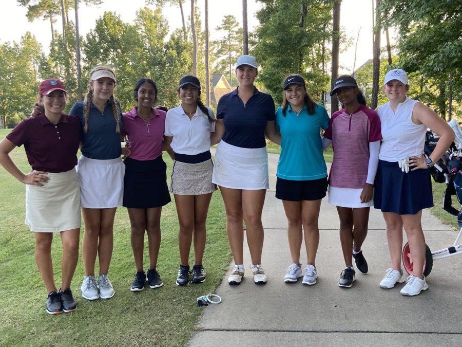 The 2021 Green Level Womens Golf Team (Fall)